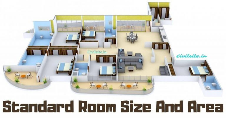 Standard Room Size And Room Area